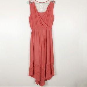 NY Condition Crochet Maxi Dress